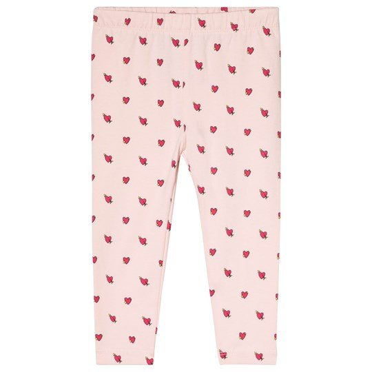 GAP Pink Hearts Print Leggings HEARTS