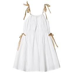 How To Kiss A Frog Coki Dress White/gold