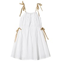 How To Kiss A Frog Coki Dress White/Gold White/Gold