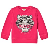 Kenzo Pink Tiger Embroidered Sweatshirt 35