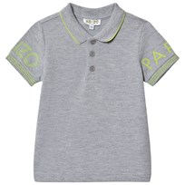 Kenzo Grey and Yellow Logo Polo 22