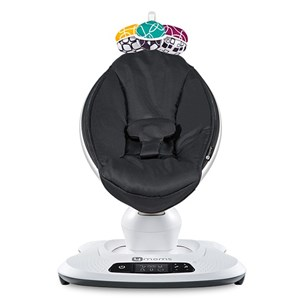 Image of 4moms MamaRoo4 Infant Seat Black Classic Seat (3065510903)