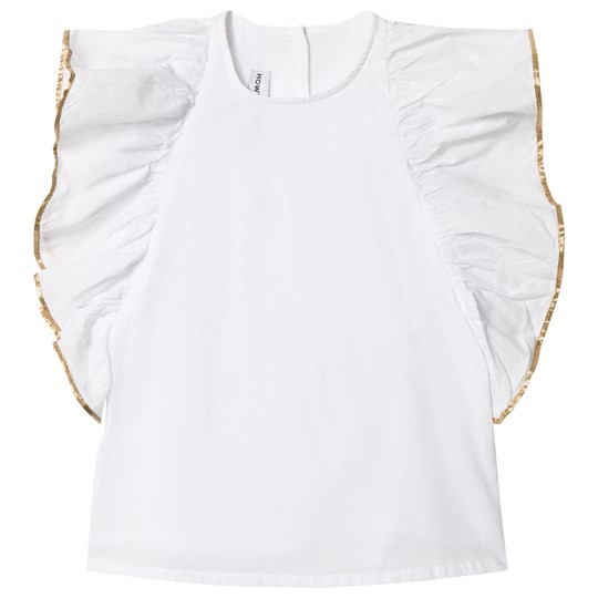 How To Kiss A Frog Bling Topp Vit/Guld White/Gold