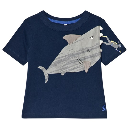 Tom Joule Navy Shark Applique Jersey Tee NAVY SHARK