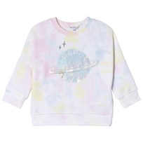 Little Marc Jacobs Multicolor Branded Planet Sweatshirt Z41