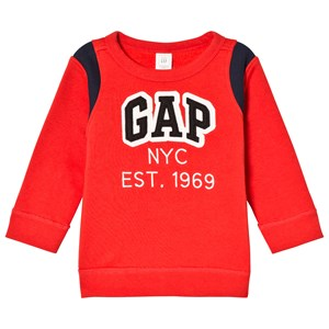 Image of GAP Poster Red Logo Sweater 2 år (2970788173)