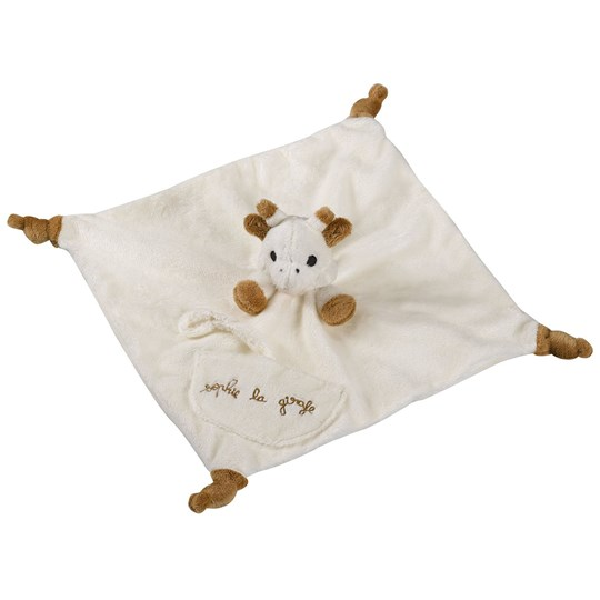 Sophie The Giraffe Comforter with Soother Holder Multi