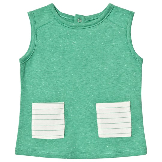 Blune Tank Top with Patch Pockets Pomme POMME