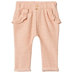 Image of Blune Sarouel Pants with Flounce Pockets Apricot/Gold 6 år (2969781769)