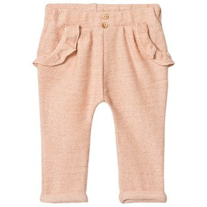 Image of Blune Sarouel Pants with Flounce Pockets Apricot/Gold 6 mdr (3012596221)