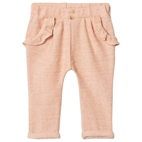Blune Sarouel Pants with Flounce Pockets Apricot/Gold ABRICOT/GOLD