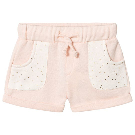 Blune Shorts with Printed Pockets Bonbon BONBON