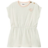 Blune Striped Dress With Embroidery Craie/Pomme CRAIE/POMME