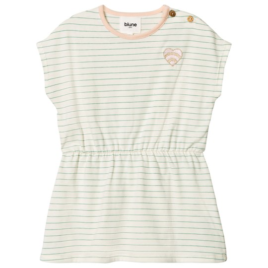 Blune Stripe Dress with Embroidery Craie/Pomme CRAIE/POMME