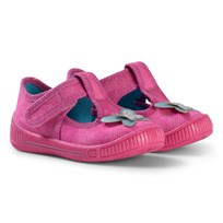 Superfit Butterfly Bully Slipper Pink Pink Combi