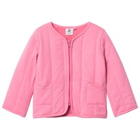 Noe & Zoe Berlin Pink Sweat Jacket with Printed Tiger on Back Pink