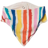 Noe & Zoe Berlin Multi Color Stripe Dribble Bib MULTIKULTI