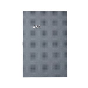 Image of Design Letters Message Board A3 Dark Grey (2970787159)