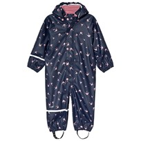 Celavi Swallow Rain Coverall Navy Navy
