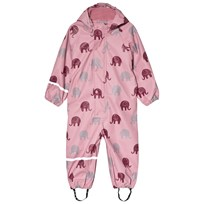 Celavi Elephant Rain Coverall Pink Pink