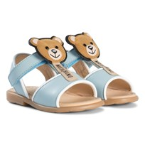 Moschino Kid-Teen Pale Pink Bear Lolly Sandals 9103
