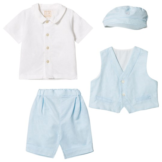 Emile et Rose Kayden Blue Smart Outfit Pale Blue