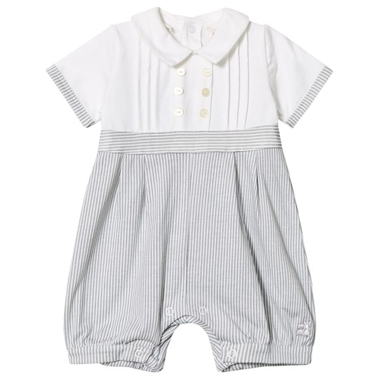 Emile et Rose Murray Grey Striped Romer Musta
