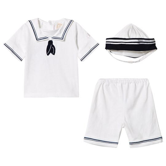 Emile et Rose Magnus White Sailor Outfit White