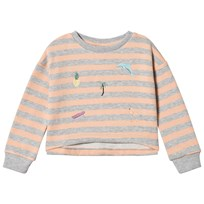 Molo Marci Sweatshirt Tropical Stripe Tropical Stripe