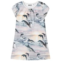 Molo Camellia Dress Dolphin Sunset Dolphin Sunset
