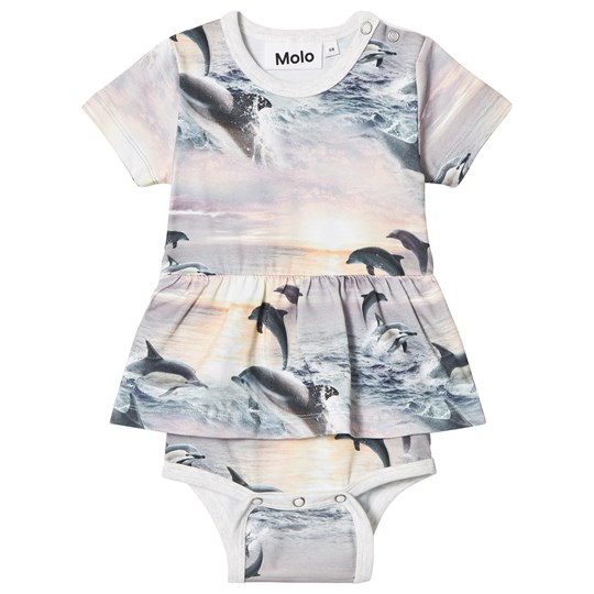 Molo Frannie Baby Body Dolphin Sunset Dolphin Sunset