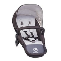 EasyWalker Harvey Seat All Black Black