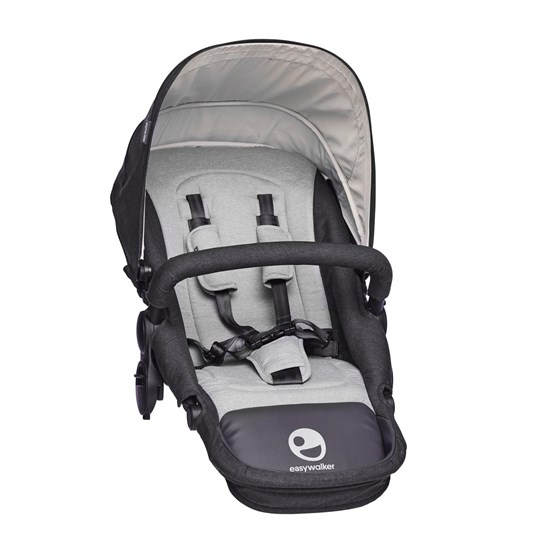 EasyWalker Harvey seat Coal Black Black