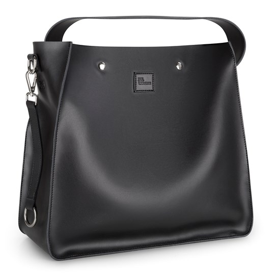 The Tiny Universe Leather Frenzy Bag Black ALL BLACK