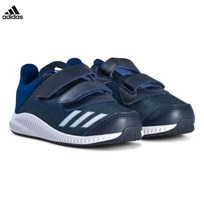 adidas Performance Navy and White FortaRun Velcro Infants Trainers COLLEGIATE NAVY/FTWR WHITE/COLLEGIATE ROYAL