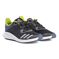 adidas Performance FortaRun Trainers Gray and Silver CARBON S18/SILVER MET./RAW STEEL S18