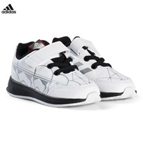 adidas Performance White Star Wars RapidaRun Infants Trainers FTWR WHITE/CORE BLACK/SCARLET