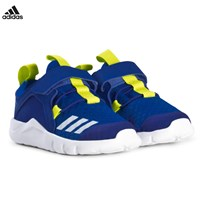adidas Performance Blue RapidaFlex Infants Trainers BLUE/COLLEGIATE ROYAL/SEMI SOLAR YELLOW