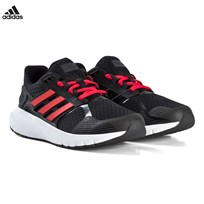 adidas Performance Black and Red Duramo 8 Trainers CORE BLACK/HI-RES RED S18/CARBON S18