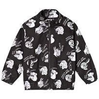 Molo Hadd Denim Jacket Black/White Black