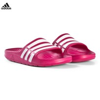 adidas Performance Pink Duramo Sliders PINK BUZZ S10 / RUNNING WHITE FTW / PINK BUZZ S10