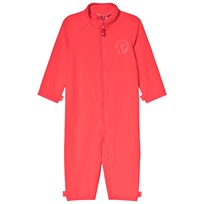 Reima Kiesu Fleece Onesie Bright Red Bright Red
