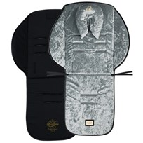 Bjällra of Sweden Seat cushion in grey velvet Premium Line