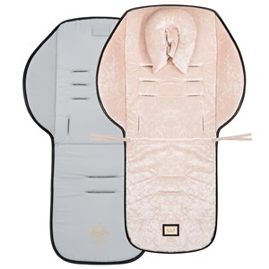 Image of Bjällra of Sweden Pink Velvet Seat Cushion (3065508737)