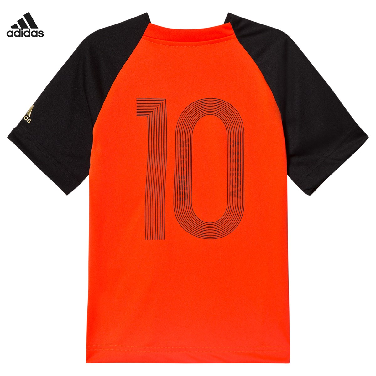 adidas Performance - Black and Red Messi Top