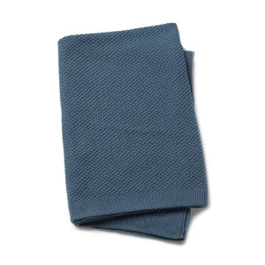 Image of Elodie Moss-Knitted Blanket - Tender Blue One Size (1019645)