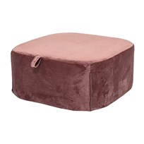 Bloomingville Pouf Rose Polyester Multi