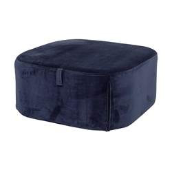 Bloomingville Pouf Blue Polyester