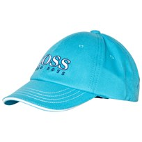 BOSS Blue Branded Baseball Cap 75G