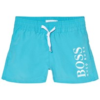 BOSS Blue Branded Swim Trunks 75G